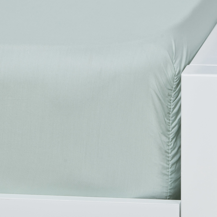 Eternity Luxe Single Fitted Sheet - 90x200 cm