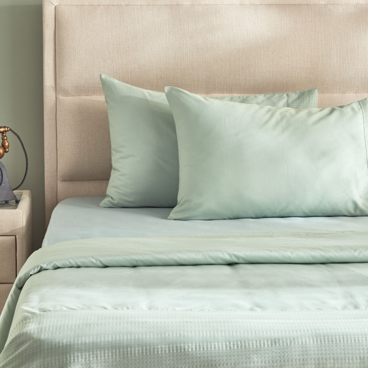 Eternity Luxe 2-Piece Oxford Pillow Cover Set - 50x75 cms