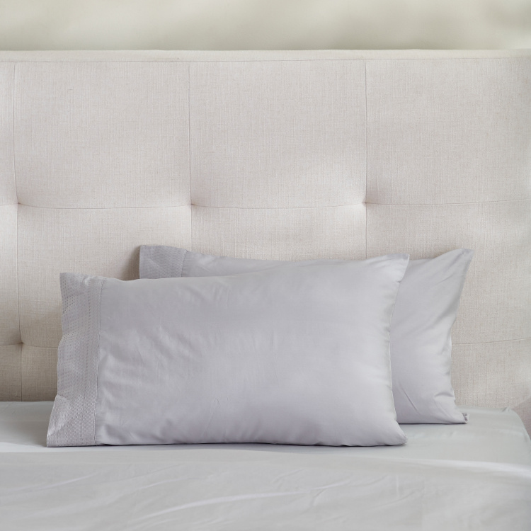 Eternity Luxe 2-Piece Pillow Cover Set - 50x75 cms