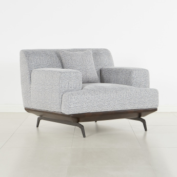 Steve 1-Seater Armchair with Scatter Cushions