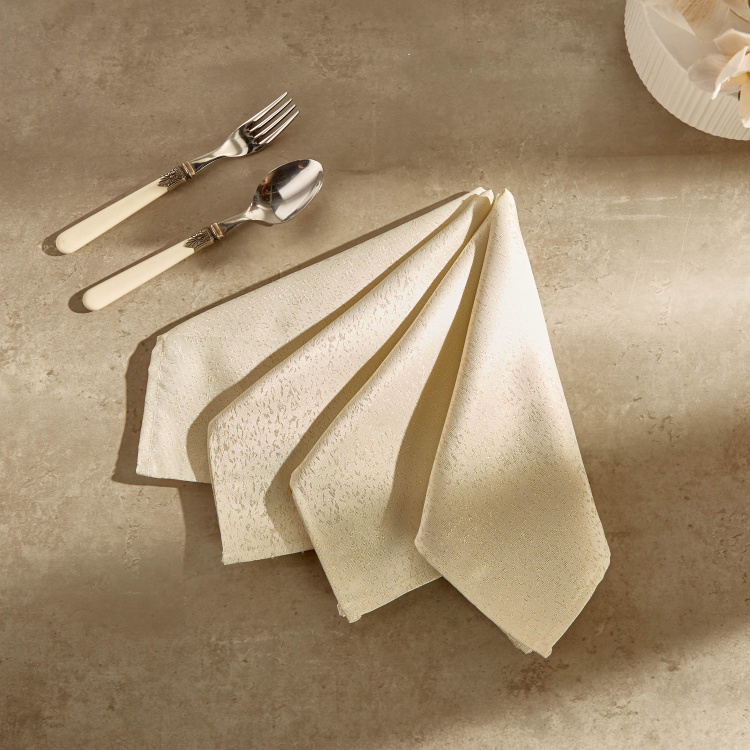 Glitz Patterned Napkin - Set of 4