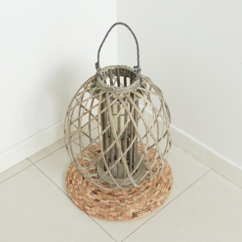 Nanchang Willow Lantern with Glass