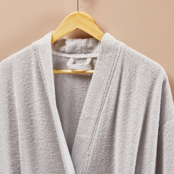 Diona Bathrobe with Long Sleeves - Large