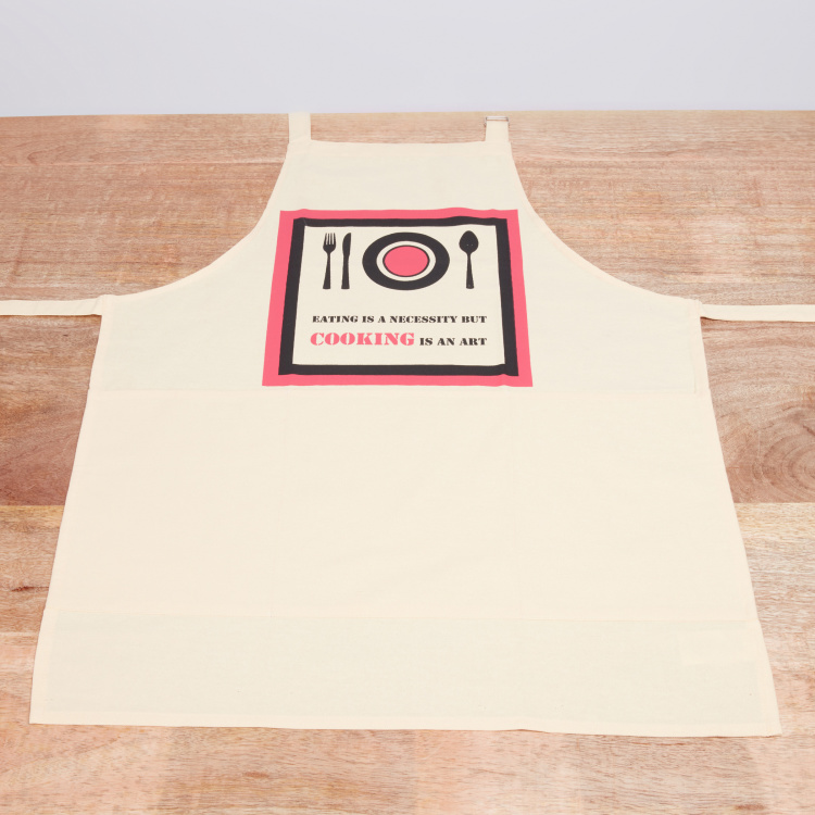 Cooking Art Printed Apron