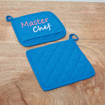 Master Quilted Chef Pot Holder - Set of 2