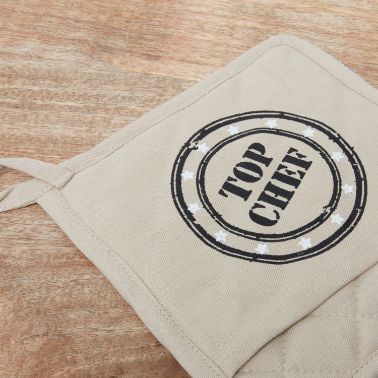 Top Chef Printed Pot Holder - Set of 2