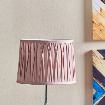 Mix and Match Pleated Lamp Shade with Reversible Gimbal