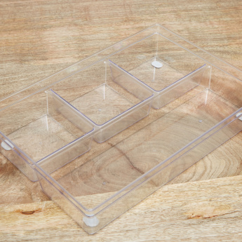 Fancy 4-sections Organiser - 6x33x23 cms