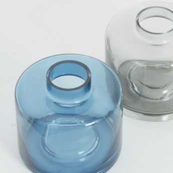 Stack Me Up Medium Stackable Glass Vases - Set of 2
