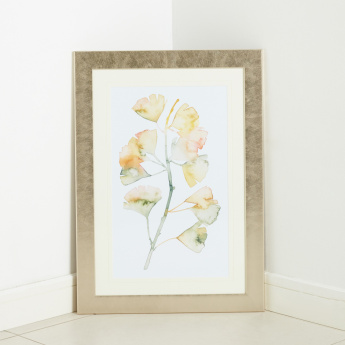 Water Stem Printed Framed Art