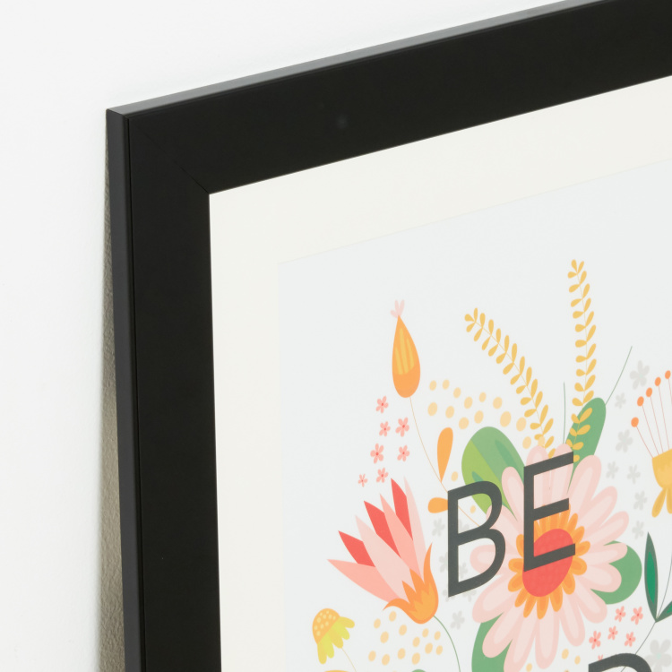 Floral Friendly Framed Wall Art