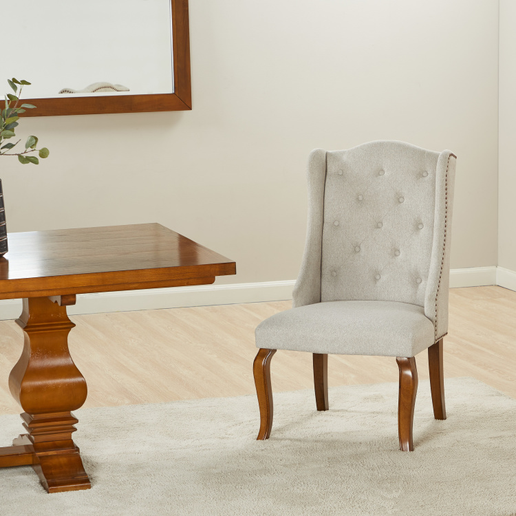 Victor Tufted Armless Dining Chair
