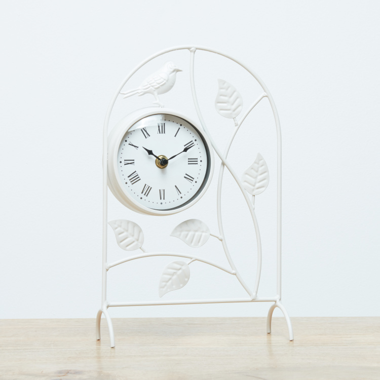 Robin Circular Decor Clock