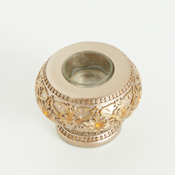 Melh Textured Matte Tealight Holder