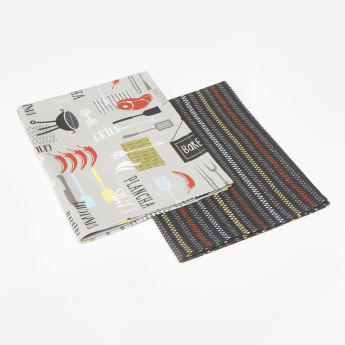 Barbeque Kitchen Towel - Set of 2