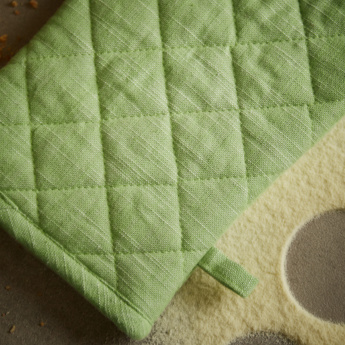 Florence Quilted Oven Mitten