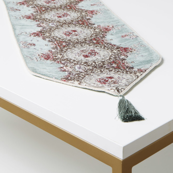 Majolika Embroidered Table Runner - 30x180 cms