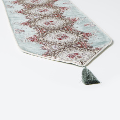 Majolika Embroidered Table Runner - 30x300 cms