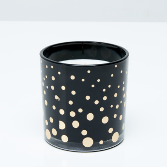 Night Mercin Printed Jar Candle