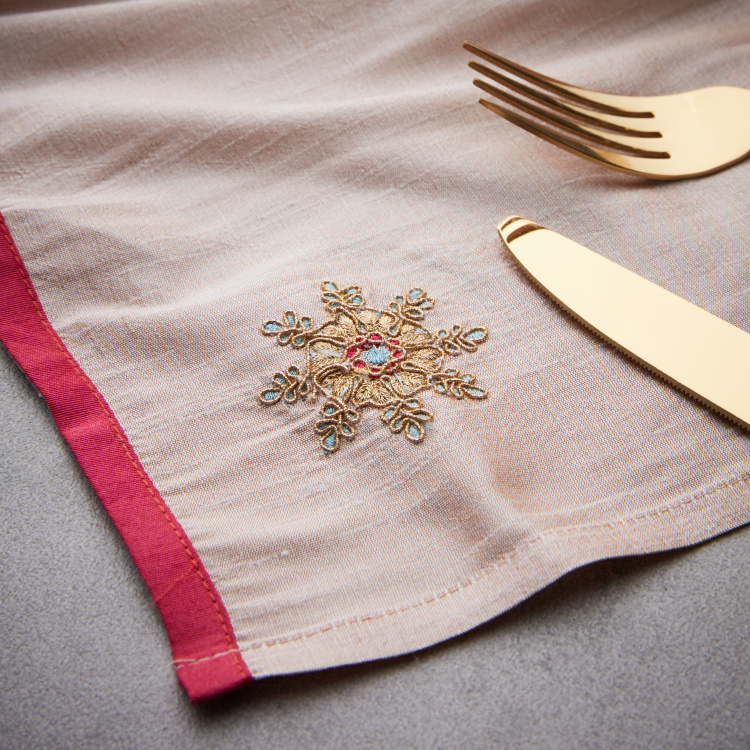 Zeba Embroidered Napkins - Set of 2