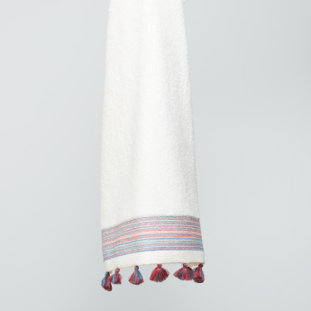 Baduvine Bath Towel with Fringes - 70x140 cms