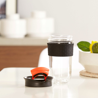 Herrin On-The-Go Teacup with Non-Slip Silicone Band