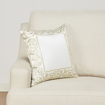 Royal Prestige Embroidered Filled Cushion – 45x45 cms