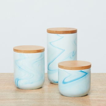 Lafayette Storage Jar with Bamboo Lid - 875 ml