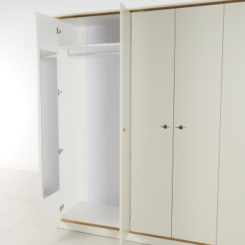 Samaah 6-Door Wardrobe with 1-Drawer
