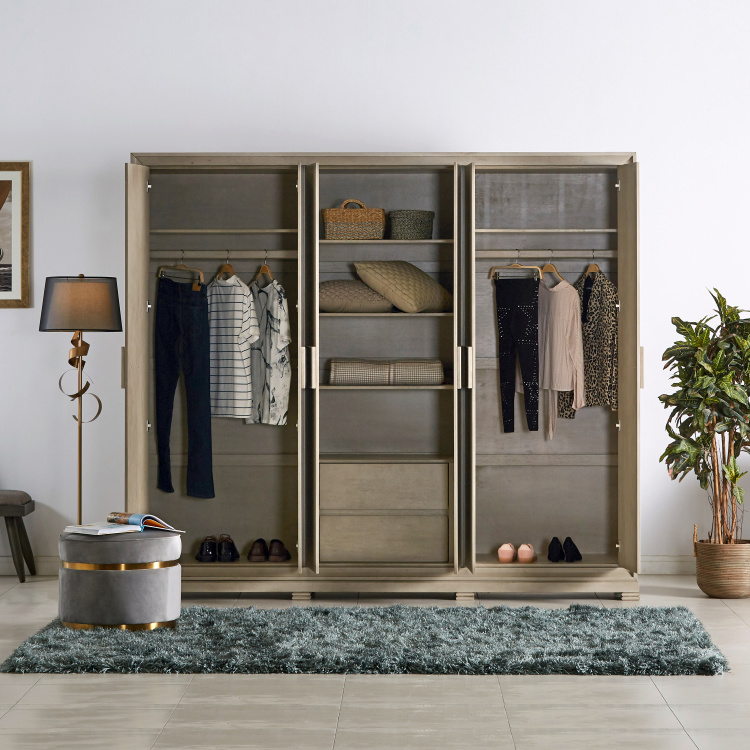Rhythm 6-Door Wardrobe