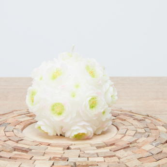 Plum Bloom Ball Candle