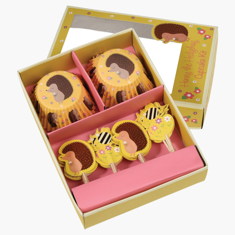 Hedgehog Cupcake Kit