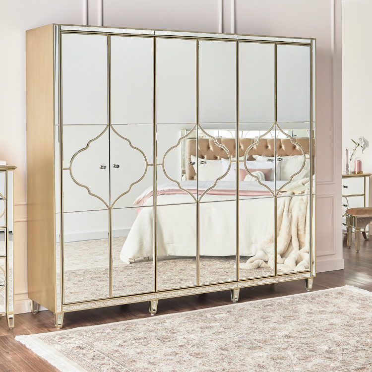 Casablanca 6-Door Wardrobe with 2-Drawers