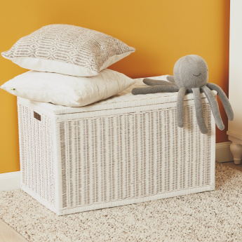 Rattan Rectangular Trunk with Lid