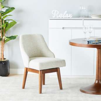 Murphy Swivel Dining Chair with Fixed Back