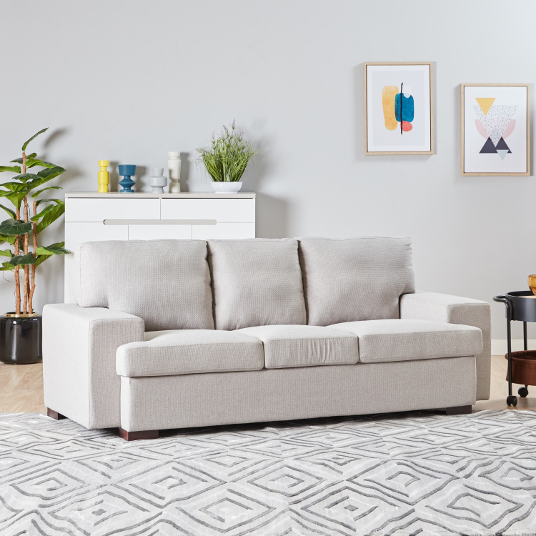 Trilanto 3-seater Fabric Sofa