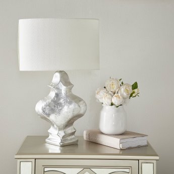 Everett Metallic Glazed Table Lamp - 62 cms
