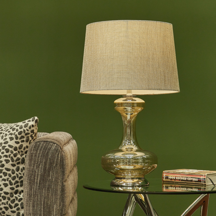 Hallandale Glass Table Lamp - 63.5 cms