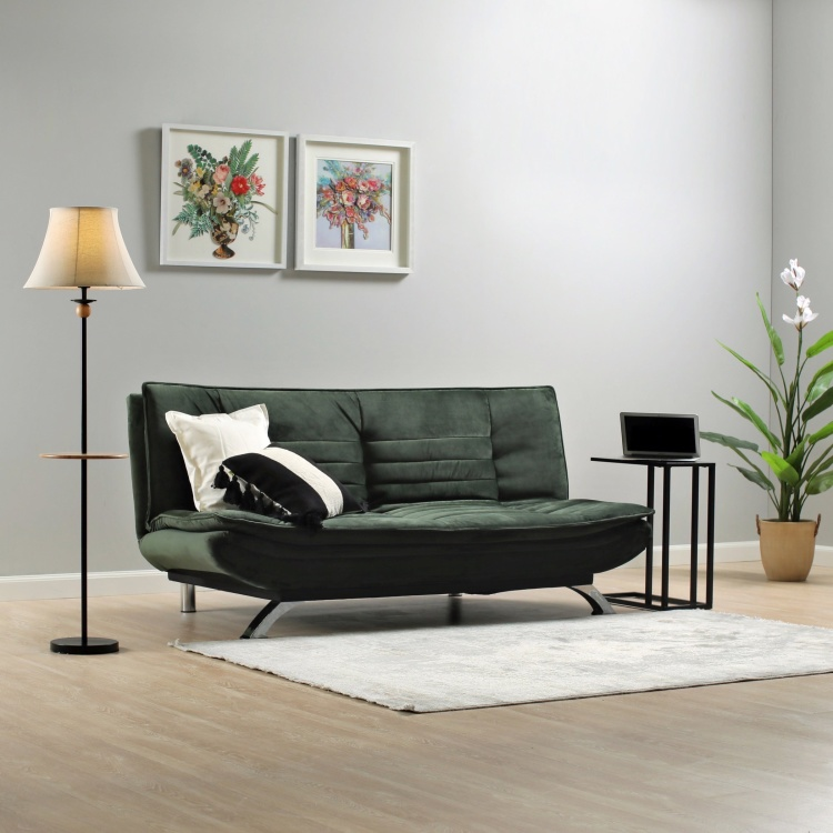 Faith 3-seater Velvet Sofa Bed