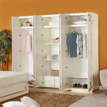 Marbella 6-Door Wardrobe