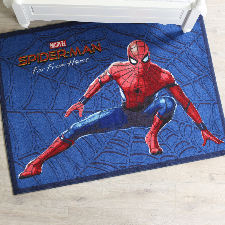 Spiderman Far from Home Printed Rug