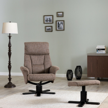 Garry Recliner Chair with Stool