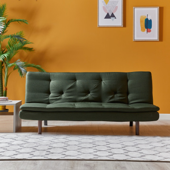 Feganz 3-Seater Armless Sofa Bed