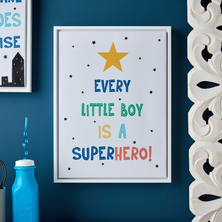 Jaiden Every Little Boy is a Superhero Canvas Print