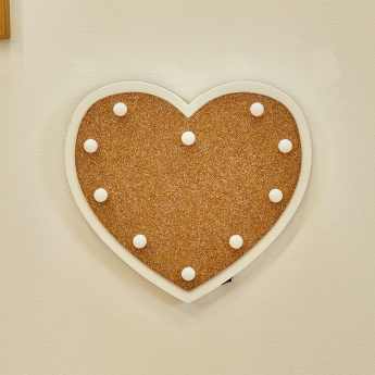 Decorative Heart Shaped LED Wall Lighting