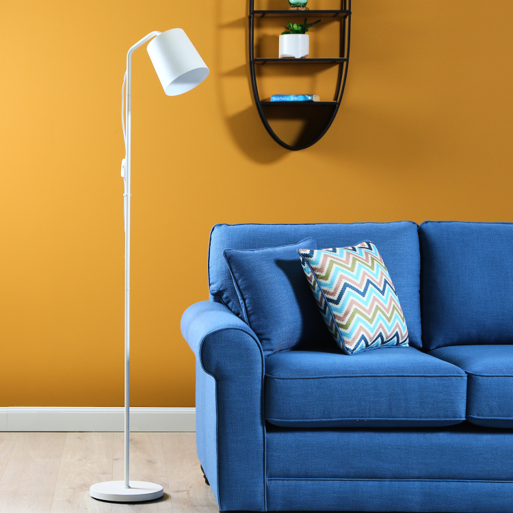 Terry Glossy Finish Floor Lamp - 167 cms