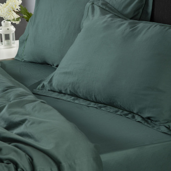 La Maison Surf Washed Queen Fitted Sheet