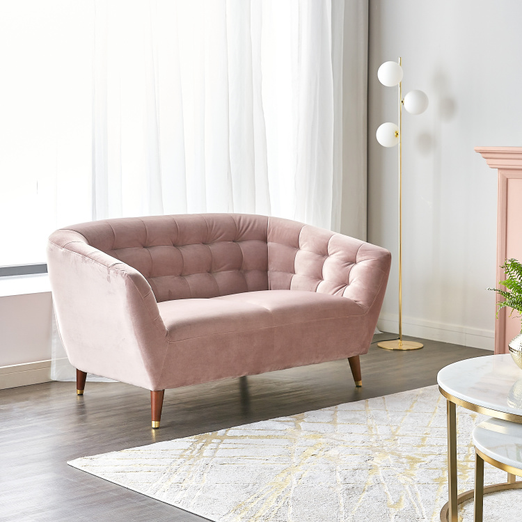 Isabel 2-seater Velvet Sofa