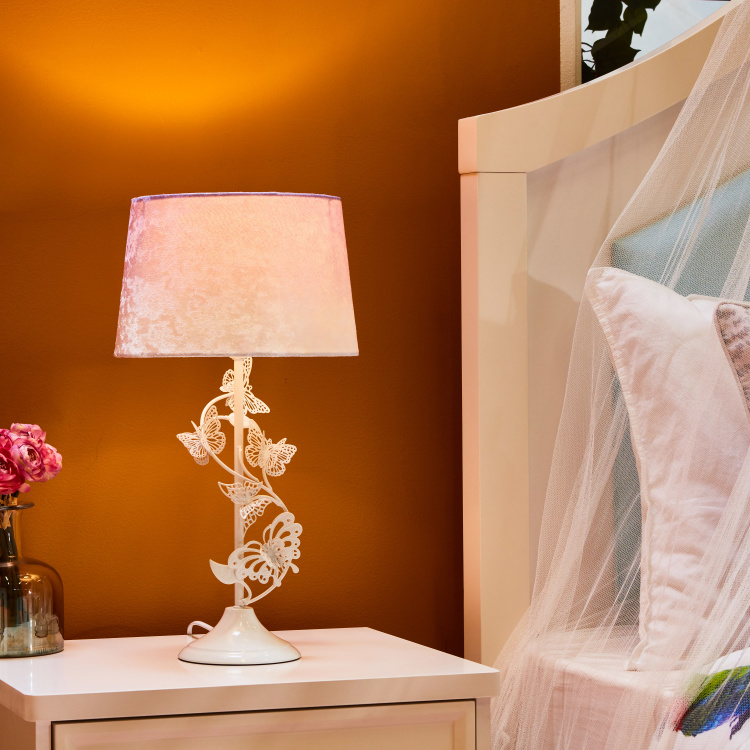Table Lamp with Butterfly Base