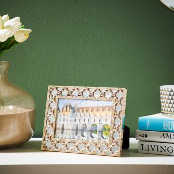 Botley Photo Frame with Metallic Glaze
